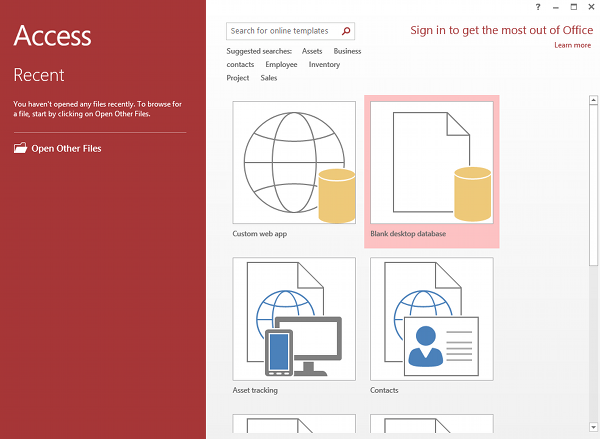 What is Microsoft Access? | Database Guide